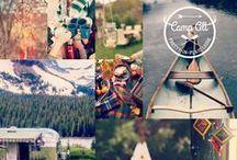 Camp Alt: Pretty-in-Plaid Lodge / Inspiration board for Alt Summit 2015 mini-party with Joann Fabrics.