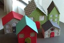 Craft - paper and ribbon / Crafts and DIY projects made with ribbon, paper and/or cardstock as the main focus. / by Megan MNMSpecial