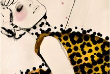 Fashion Illustrations / by Mary Briden