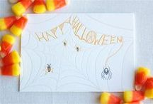 Halloween - Greeting Cards / by Cathie Toshach   tinsel + trim