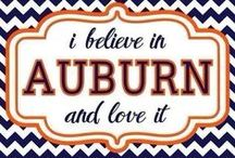 Auburn Tigers - War Eagle / by Rhonda McKissack