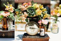 Rustic / rustic | weddings | flowers | centerpieces