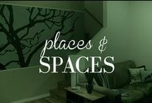 Places and Spaces / Attics, kitchens, bedrooms, closets... Our Places And Spaces Board is full of excellent ideas on how to decorate, how to organize and how to dream up any room in your home! #Home #Decorate #Organize #Interior #Exterior / by Lauren's Hope