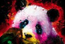 PANDA -MONIAM! / Cute pandas up to mischief.