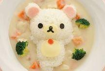 KAWAII SNACKS / Cute food designed in kawaii fashion with japanese characters and animals.