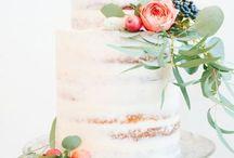 Cakes | Food | Wine | Chocolates / abundance of food & sweets | wedding inspiration