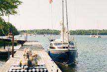 Nautical / Nautical theme wedding | ships | rope | stripes | inspiration