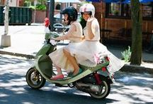 Wedding Transportation Options / inventive ways to arrive in style on your big day