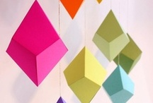 Geometric Wedding Details / bring a fresh, modern look to any wedding with these bold geometric details