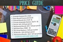 Back To School Deals / Make sure to check these great deals on Back to School items!