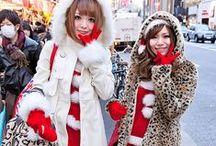 HO HO HARAJUKU! / Christmas theme with a Japanese kawaii twist!