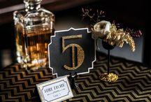 Prohibition Wedding / Prohibition Style Wedding | Great Gatsby inspiration | Art Deco