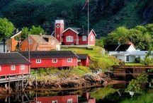 scandinavia. / sweden. norway. finland. denmark. iceland. / by Tanisha Kuykendall