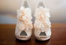 Shoes / from flats to stilettos, we think shoes are the perfect place for your personality to shine through on your wedding day