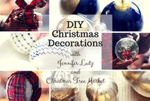 DIY Ornaments / Show us your inspiration for decorating your Christmas tree with DIY ornaments! Get a chance to win a $250 Gift Card for your perfect Christmas tree! Join here: http://ow.ly/Ex707