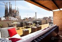 Spectacular Views / We present you some apartments with unbeatable views such as the #Colosseum in Rome at your doorstep, the #Sagrada Família in #Barcelona within touching distance and much more!