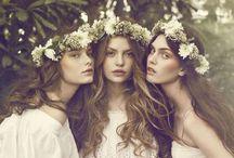 Hair Flowers / Wedding | hair flowers | head wreaths