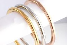ROSE | SILVER | GOLD / Rose gold, silver and gold metallic tones of jewellery, accessories, clothing and design.