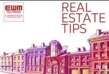 Real Estate Tips / If Real Estate is in your blood, you will surely like our curation style. / by EWM Realty International