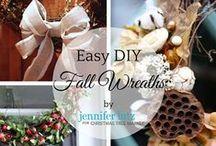 DIY Fall/Thanksgiving Decor