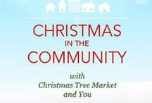 Christmas in the Community / Christmas in the Community is a campaign we started in 2014 that aims to give local charities and organizations a beautiful holiday with a brand new artificial Christmas tree. Christmas Tree Market partners with bloggers who volunteer their time and energy to decorate a Christmas Tree Market tree for their favorite charity, organization, or personal cause.