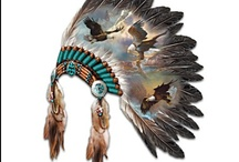 Native American, both authentic and inspired by