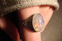 Birthstone / My birth stone the beautiful Opal!  So many variations! / by Twana Gilles