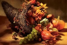 We give thanks! / Next to Halloween, Thanksgiving is my favorite holiday. I love that it is centered around family and togetherness! / by Twana Gilles