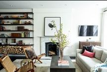 Living Rooms / by Heidi Caillier Design