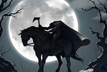 The legend of sleepy hollow. Our Hallowee theme for 2013 / by Twana Gilles