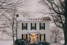 << abode   cottage >> / by Britt Deyan