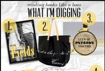 "What I'm Digging / Each week I do a feature on my book blog called ""What I'm Digging.""  This can include anything from books to things about books."