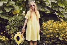 ORLA KIELY / SS 15 / Orla Kiely campaign shoot for SS 15, photography by Yelena Yemchuk