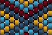 Beading - charts / ideas for peyote stitch / by Christine Goetsch