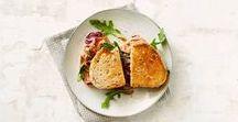 Recepten met brood / Bruin of wit, zoet of hartig, getoast of gestapeld: brood op de plank!