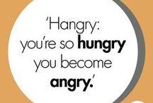 Food quotes / Wil jij geen food-wijsheden missen? Volg dit bord dan voor een maandelijks zinnetje food-geluk!