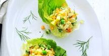 Recepten met sla / Daar maak je natuurlijk salade van! Maar ook leent het zich lekker voor wraps, soep en stamppot. Wel eerst goed schoonmaken!