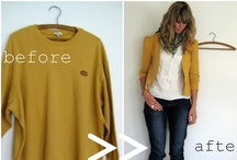 Fashion: Upcycle / Great ideas and tutorials for clothing refashion