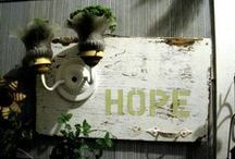 BriGhTen Up... / candles, chandeliers, lighting, sconces, diy, lampshades / by SHaBbY StOrY