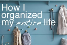 Organizing stuff / Cool ways to keep your house neat!