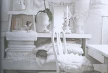 LaUnDriE BliSs... / laundry decor, ideas, storage, closets, hangers, shabby, old vintage, white, dressing room ideas, mud rooms, entry / by SHaBbY StOrY