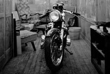 ThE MaN CaVeS... / garages, basements, rooms, ideas, diy, man room, study, den,  / by SHaBbY StOrY