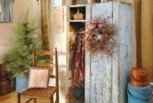 PriMs... / primitive ideas, furniture, decor, diy / by SHaBbY StOrY