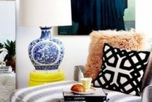 COLORFUL HOME DECOR / Fun new ways to use colour in your home and creative DIY tips and tricks.