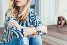 STYLING STRIPES / Stripes go with everything. That's just the truth.