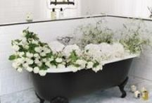 BATHROOMS / Design inspiration for the bathroom.