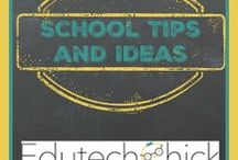 School Tips and Ideas / School tips, tricks, and ideas including content strategies, classroom management, classroom organization and decorations, and more!