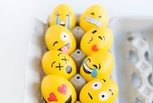 EASTER CELEBRATIONS / Celebrate Easter in style with cute DIYs and eye-catching home decor.