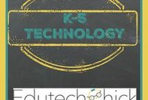 K-5 Technology / k-5 technology, elementary technology ideas, technology integration for elementary schools