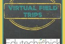 Virtual Field Trips / virtual field trips, websites for virtual field trips, interactive learning, project based learning, virtual reality in the classroom